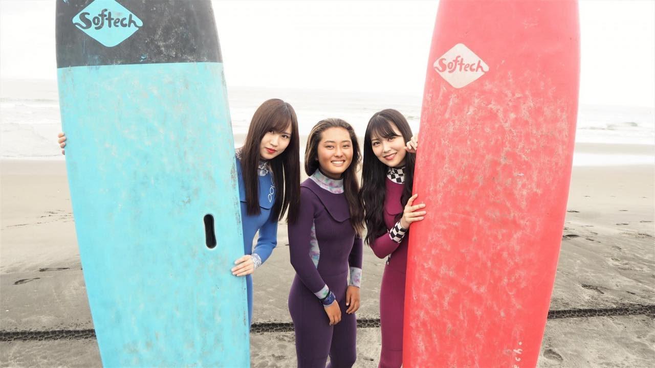 サーフィン&クライミング美少女に完全密着! CSテレ朝ch1「NMB48白間美瑠の金メダル獲ったんで!」 [8/30 19:00~]