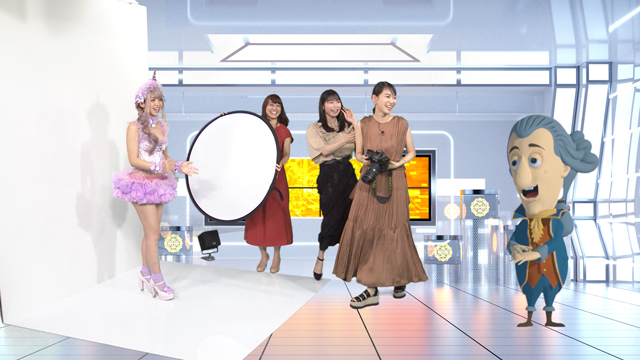 AKB48 横山由依が出演 えなこが明かすコスプレの(秘)事情に大興奮! テレ朝「サン・ジェルマン伯爵は知っている」 [9/4 26:24~]