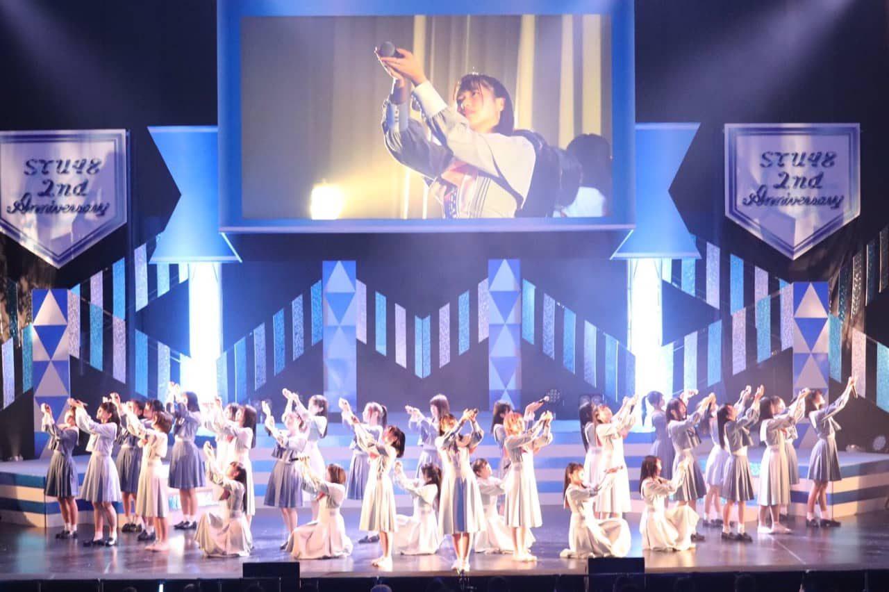 【予約開始】STU48初のLIVE映像商品!「STU48 2周年記念コンサート」Blu-ray&DVD、11/6発売決定!