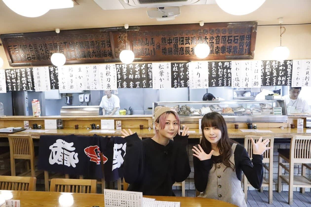 SKE48 古畑奈和が出演「古畑前田のえにし酒」東京・中野ディープ呑み編