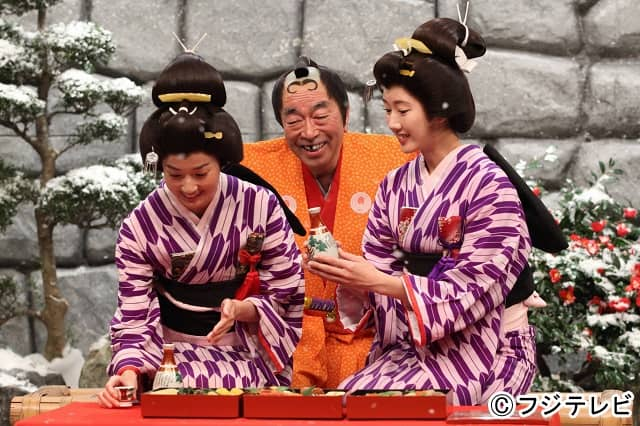 石田安奈が「志村けんのバカ殿様 初笑いSP」に出演