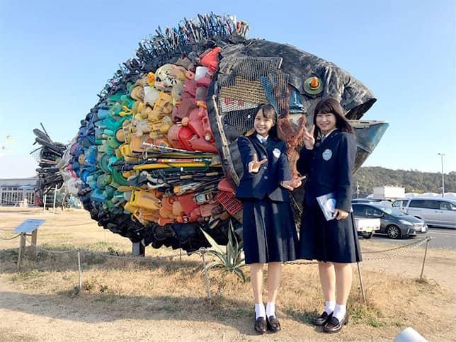 「せとチャレ!STU48」祝100回!藤原あずさの地元岡山・玉野市で思い出スポット巡り!