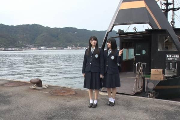 STU48 中村舞&矢野帆夏が広島県仙酔島へ「SETOUCHI ISLAND」