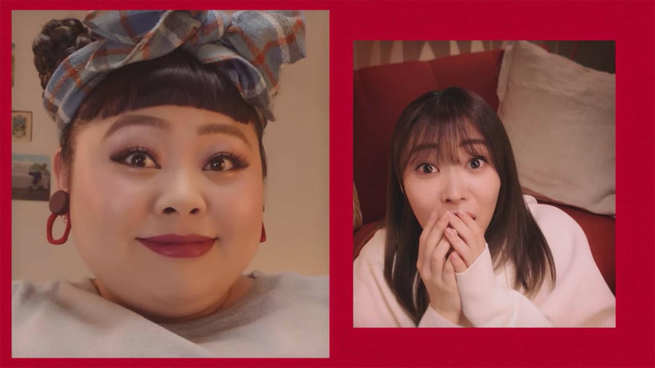 【動画】指原莉乃と渡辺直美がビデオチャット、TEPCO新CM 4タイプ公開!