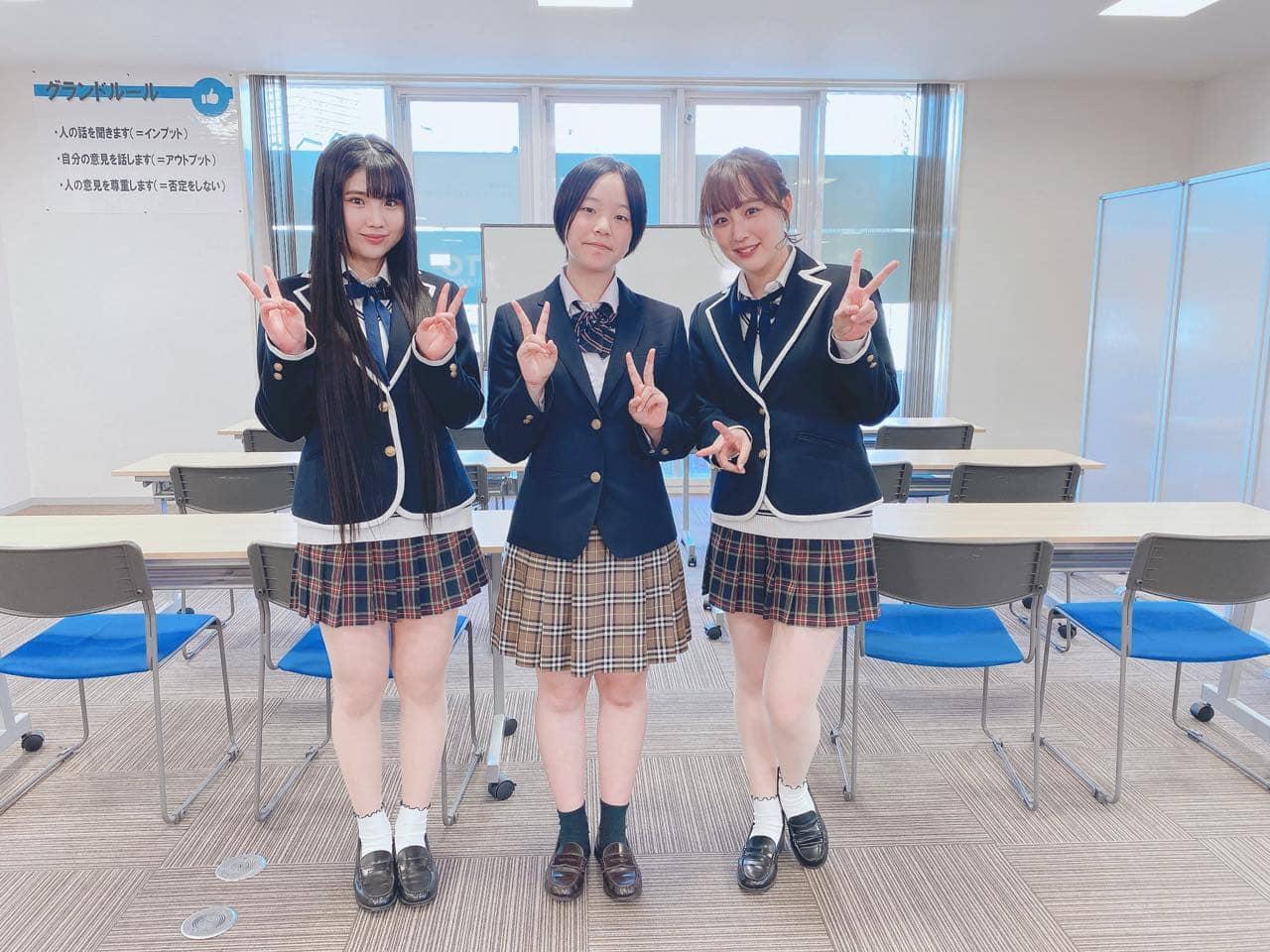 「SKE48は君と歌いたい」鎌田菜月&北川愛乃がKTCおおぞら高等学院岐阜キャンパスを訪れる②