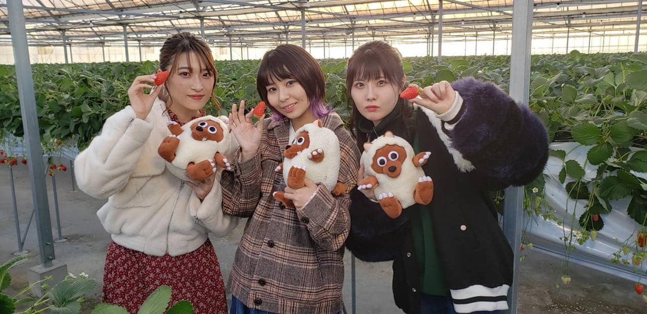 SKE48 谷真理佳&和島あみ&二瓶有加の3人で春をサキドリ女子会!「BomberE」