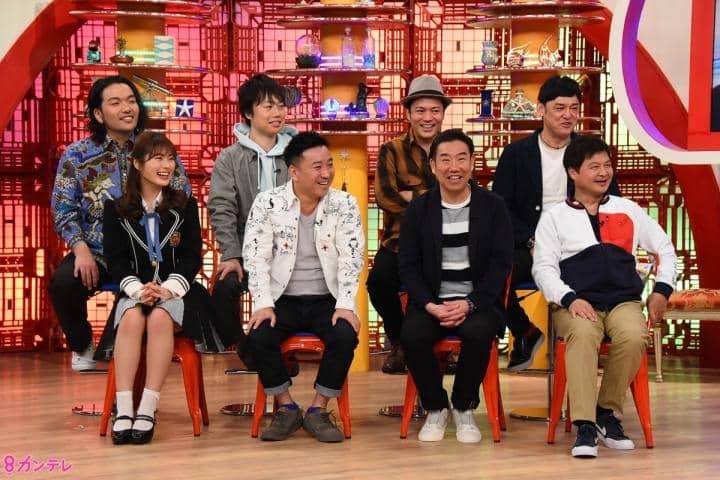 NMB48 渋谷凪咲出演「お笑いワイドショー マルコポロリ!」関根勤大解剖SP