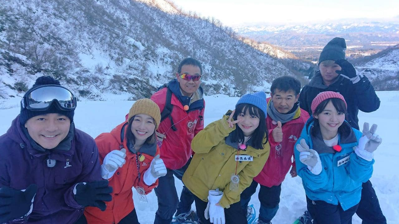 「SKE48のバズらせます!!」須田亜香里・倉島杏実・髙畑結希がスノーアートでバズらせます!
