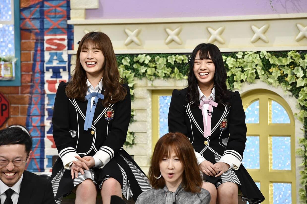 NMB48 渋谷凪咲&山田寿々が「土曜はダメよ!」に出演!【読売テレビ】