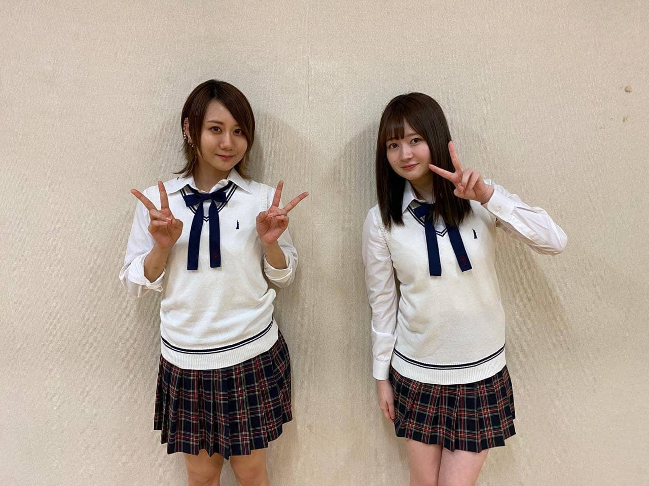 「SKE48は君と歌いたい 特別編」江籠裕奈&古畑奈和がレッスン場で語り合う