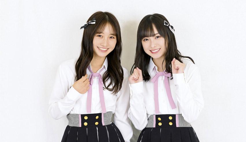 NMB48 梅山恋和&山本彩加「2人は仲間だけどライバル」【ENTAME インタビュー】