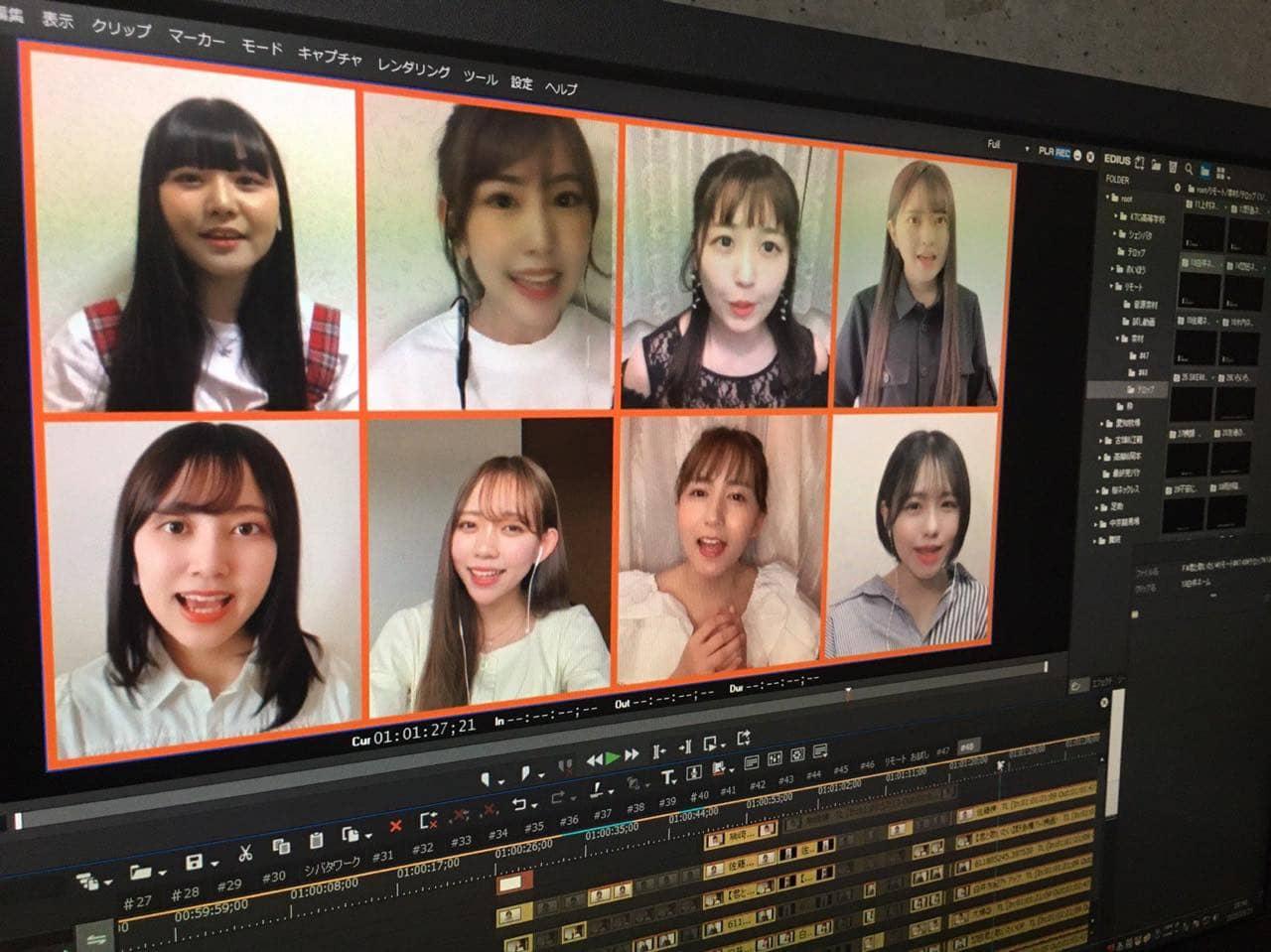 「SKE48は君と歌いたい 特別編」メンバー8人がリモート撮影で思いを込めた歌を届ける