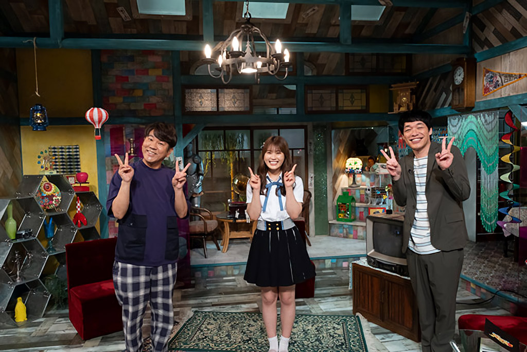 NMB48 渋谷凪咲が「鎮まれ!もったいないオバケちゃん」に出演!【読売テレビ】