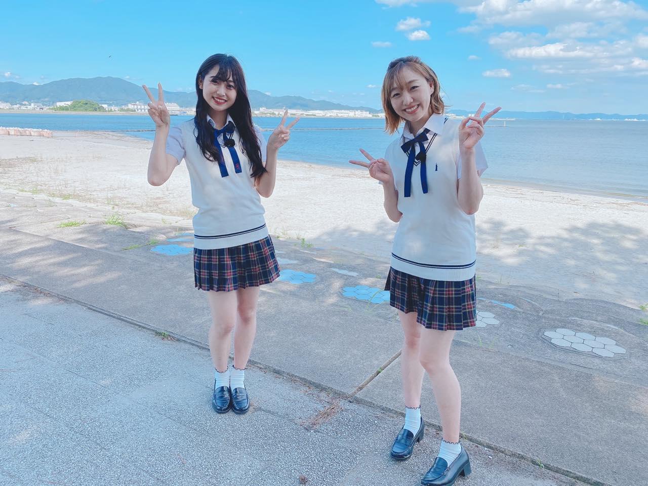 「SKE48は君と歌いたい」須田亜香里&青海ひな乃が蒲郡海鮮市場を訪ね、販売員の男性と出会う②