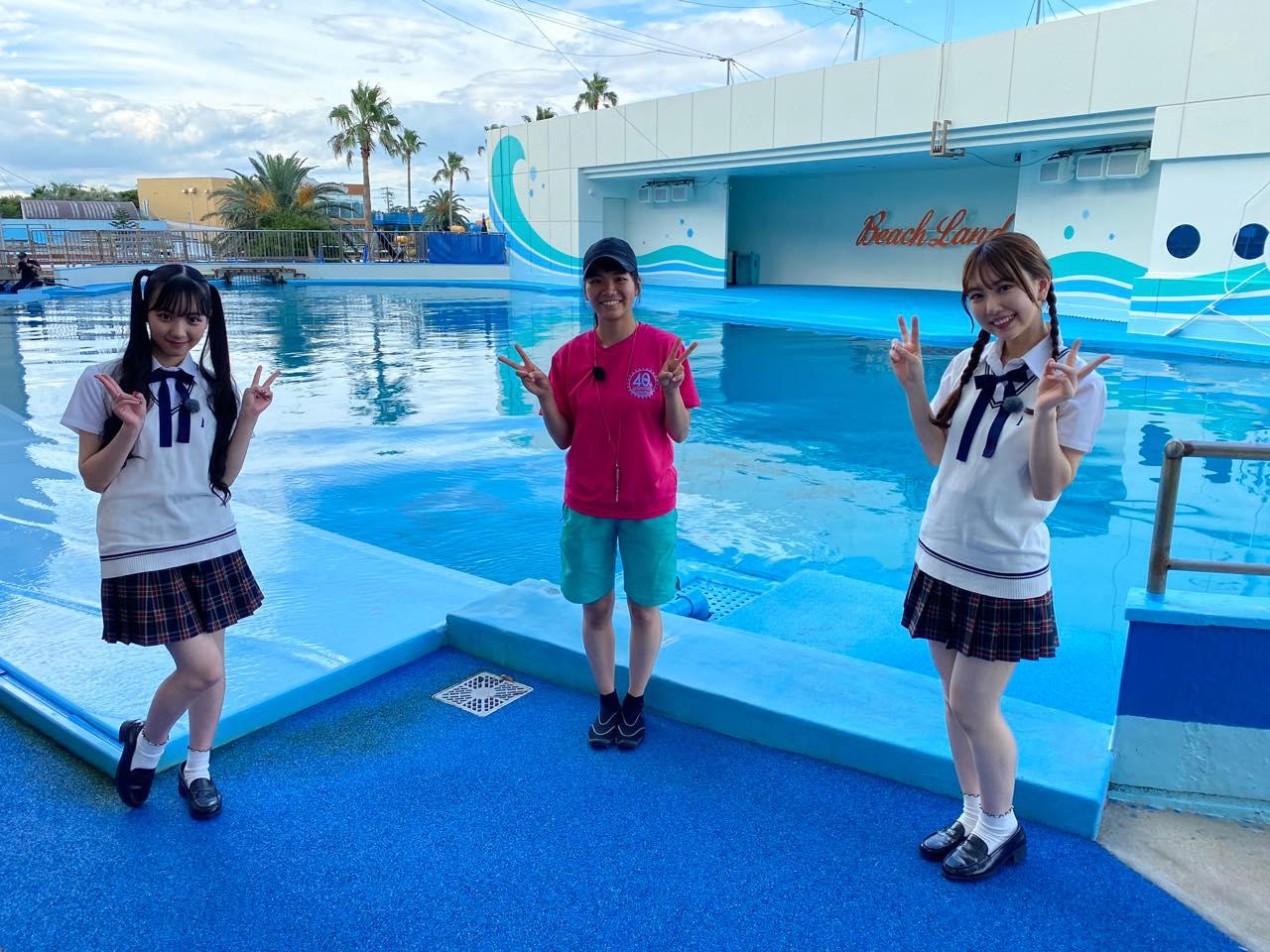 「SKE48は君と歌いたい」熊崎晴香&末永桜花が愛知県南知多エリアを訪れる