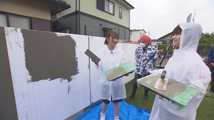 「ぎふサテ! / SKE48の岐阜県だって地元ですっ!」岐阜発!身近な素材で造る新たな壁!