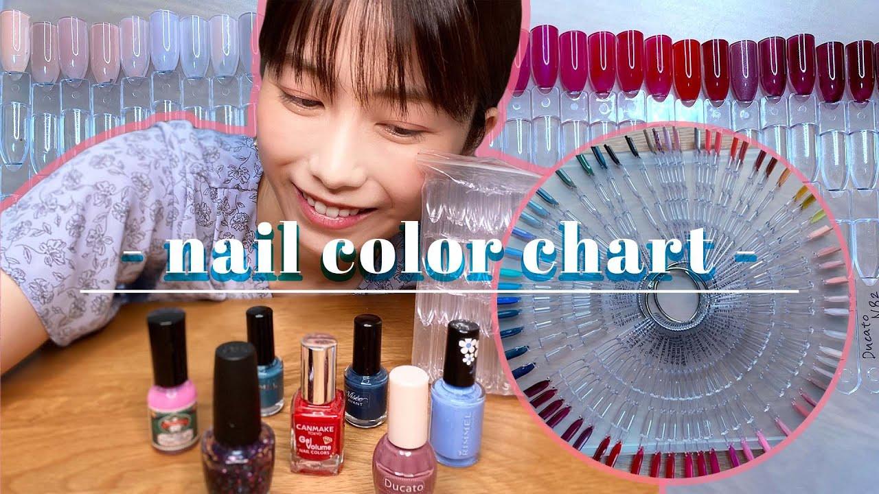 【動画】AKB48 横山由依「ネイル紹介&カラーチャート作り」
