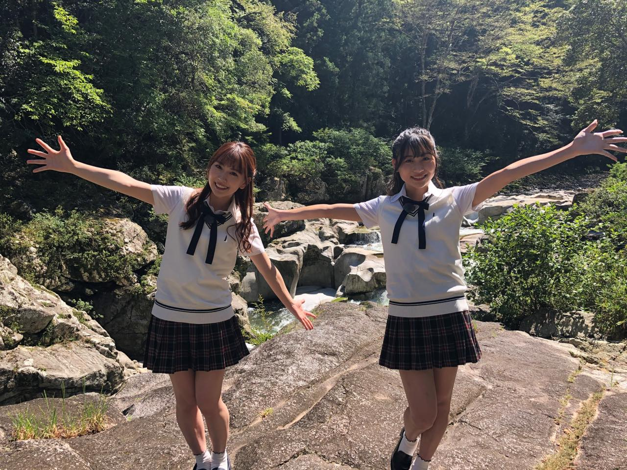 「SKE48は君と歌いたい」青海ひな乃&熊崎晴香が愛知県奥三河エリアを訪れる②【東海テレビ】
