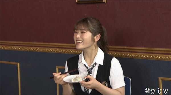 NMB48 渋谷凪咲出演「ワケあり!レッドゾーン」残暑にピッタリの極上餃子に大興奮!