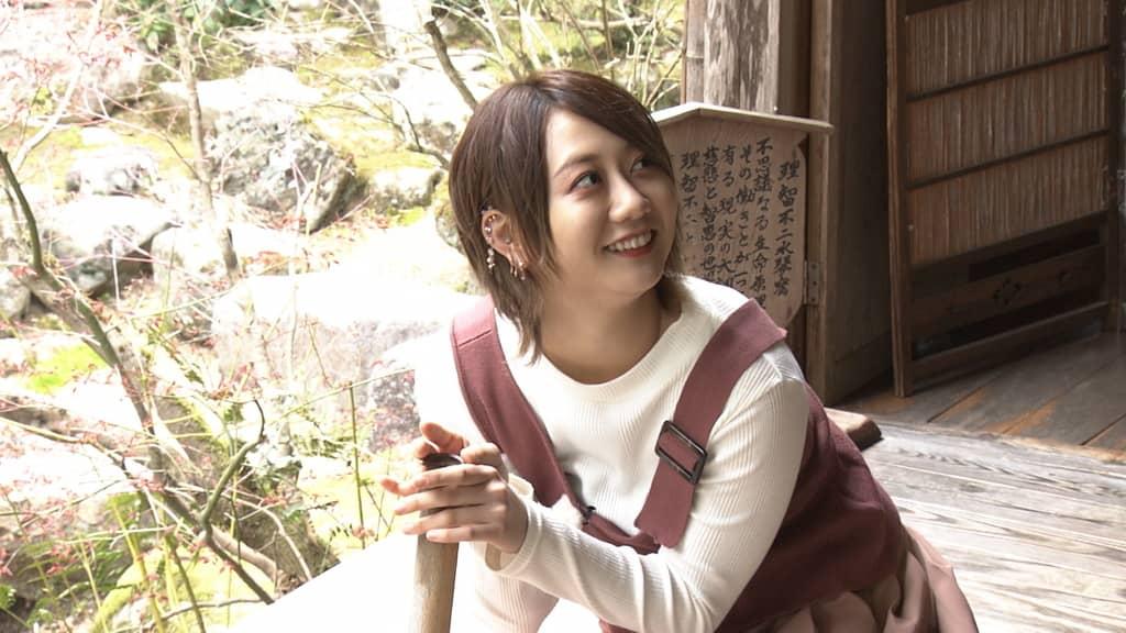SKE48 古畑奈和が「趣味どきっ! アイドルと巡る仏像の世界」に出演!