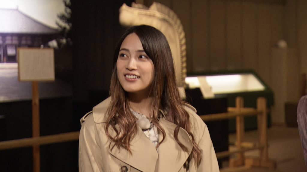 AKB48 入山杏奈が「趣味どきっ! アイドルと巡る仏像の世界」に出演!