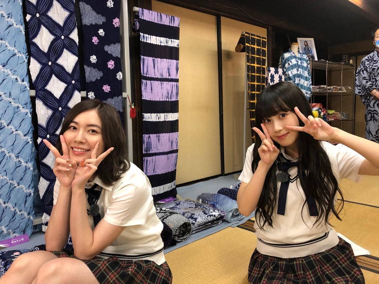 「SKE48は君と歌いたい」井上瑠夏&松井珠理奈が愛知県・有松エリアを訪れる【東海テレビ】