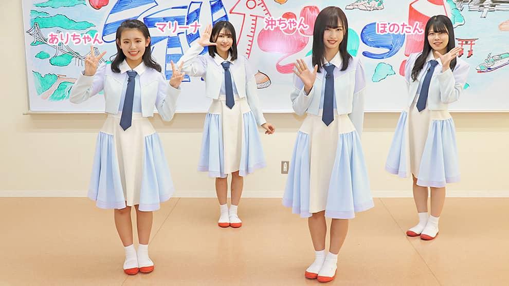 「STU↗︎でんつ!」#129:頭とカラダを使って風船運び対決!【広島テレビ】