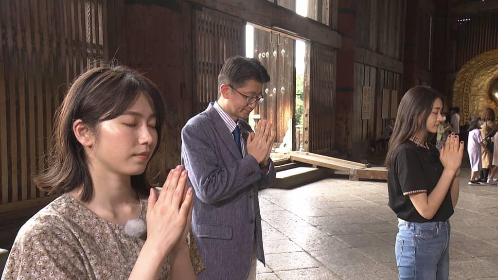 AKB48 横山由依が「趣味どきっ! アイドルと巡る仏像の世界」に出演!
