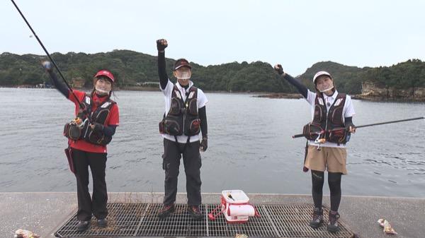 HKT48 田島芽瑠&今田美奈が「九十九島釣~リスト」に出演!釣りの楽しさを体感!【テレビ長崎】
