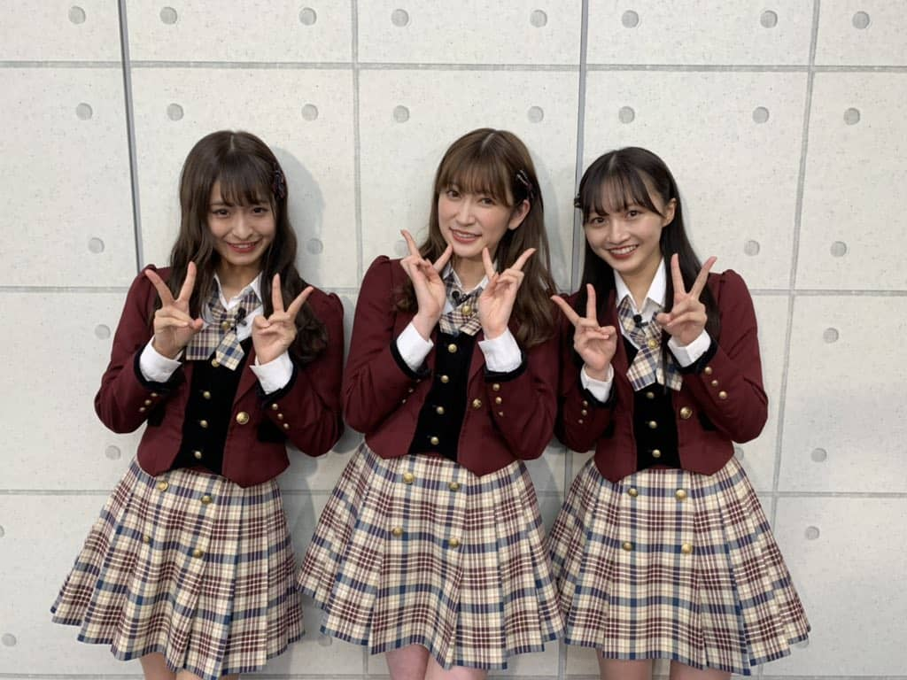 NMB48 清水里香・吉田朱里・山本彩加MC「音いたち」ゲストは大阪寝屋川発の3ピースバンド the paddles!