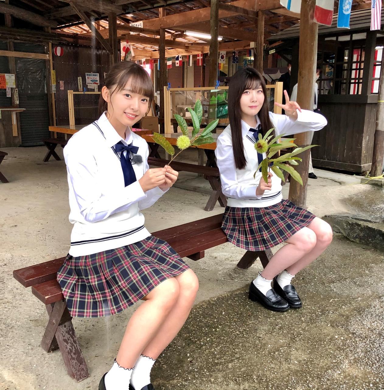 「SKE48は君と歌いたい」高畑結希&谷真理佳が愛知県豊田市の栗園を訪れる【東海テレビ】