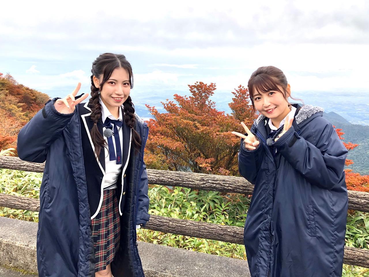 「SKE48は君と歌いたい」荒井優希&惣田紗莉渚が三重県菰野町の御在所ロープウエイを訪れる【東海テレビ】