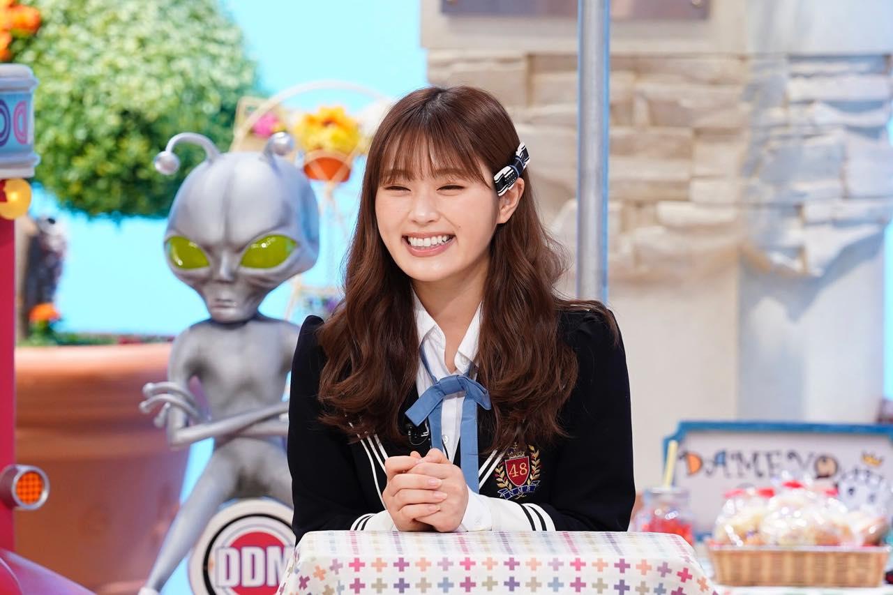 NMB48 白間美瑠&渋谷凪咲が「土曜はダメよ!」に出演!【読売テレビ】
