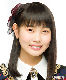 AKB48 御供茉白、15歳の誕生日