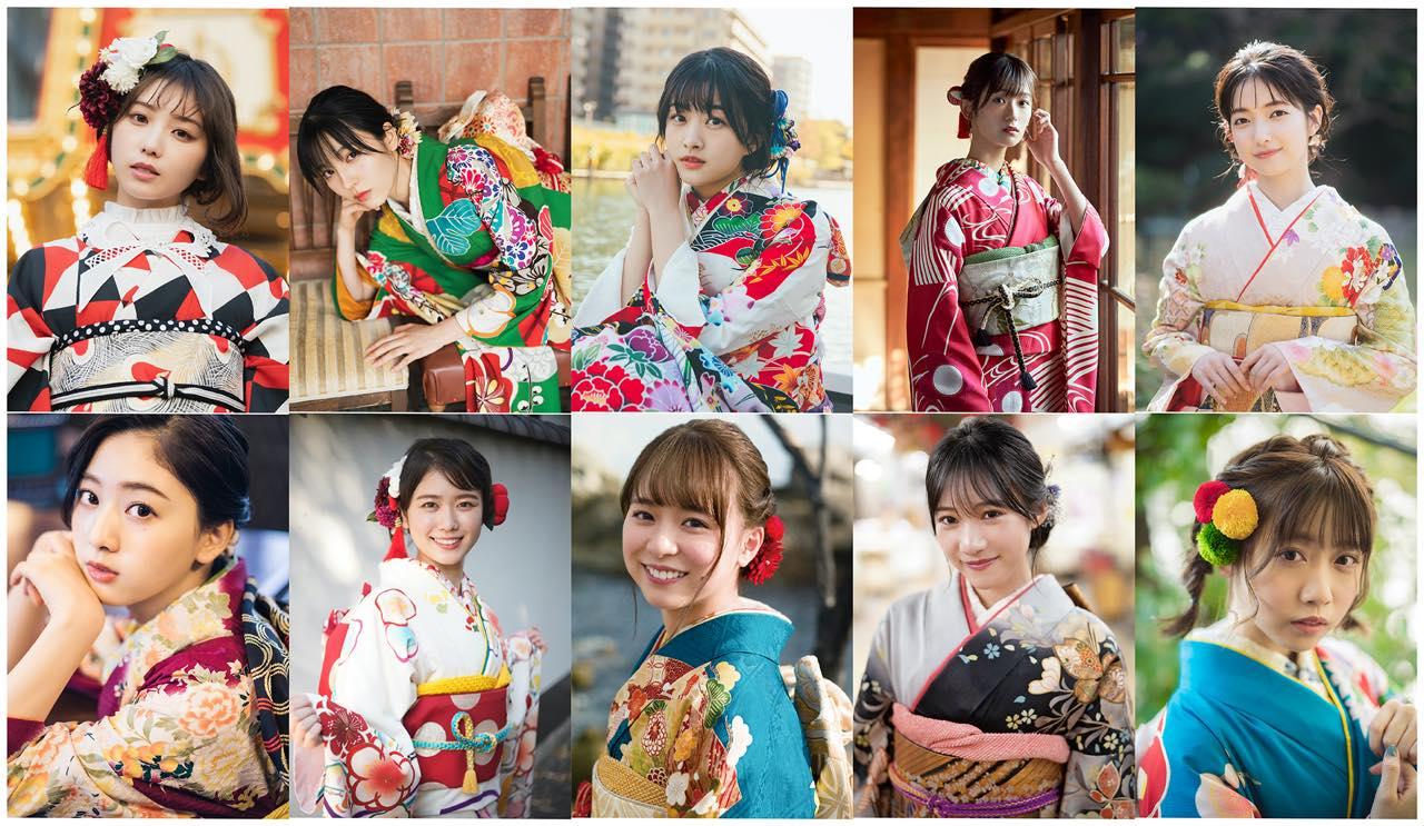 AKB48 倉野尾成美、NMB48 横野すみれら新成人アイドル10人が振袖姿で登場!「20±SWEET 2021 JANUARY」12/26発売!【予約開始】