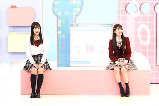NMB48 安田桃寧が「和牛の以上、現場からお伝えしました。」に出演!