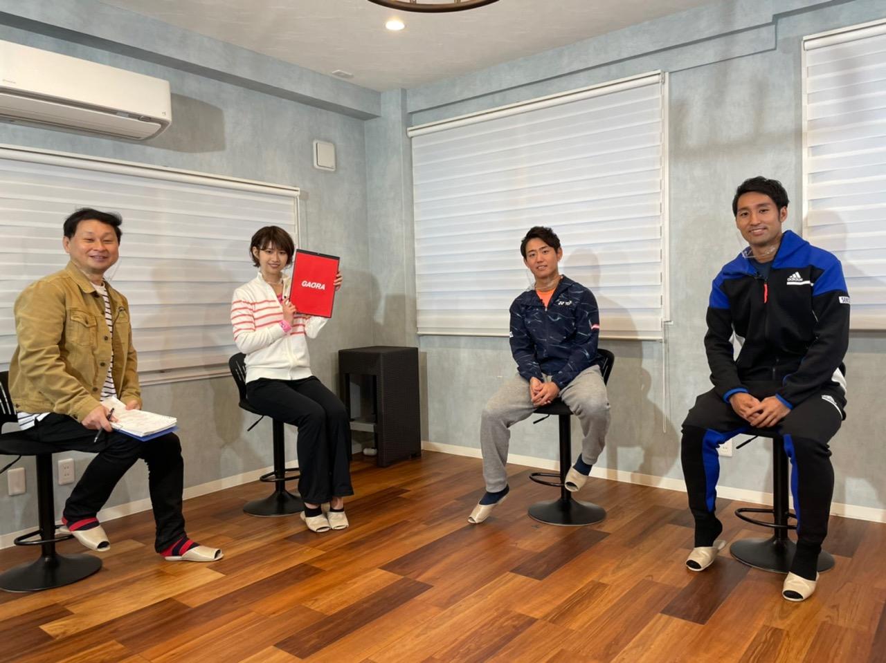 AKB48 チーム8 佐藤朱が「男子テニスATPツアー2021開幕SP」に出演!【GAORA SPORTS】