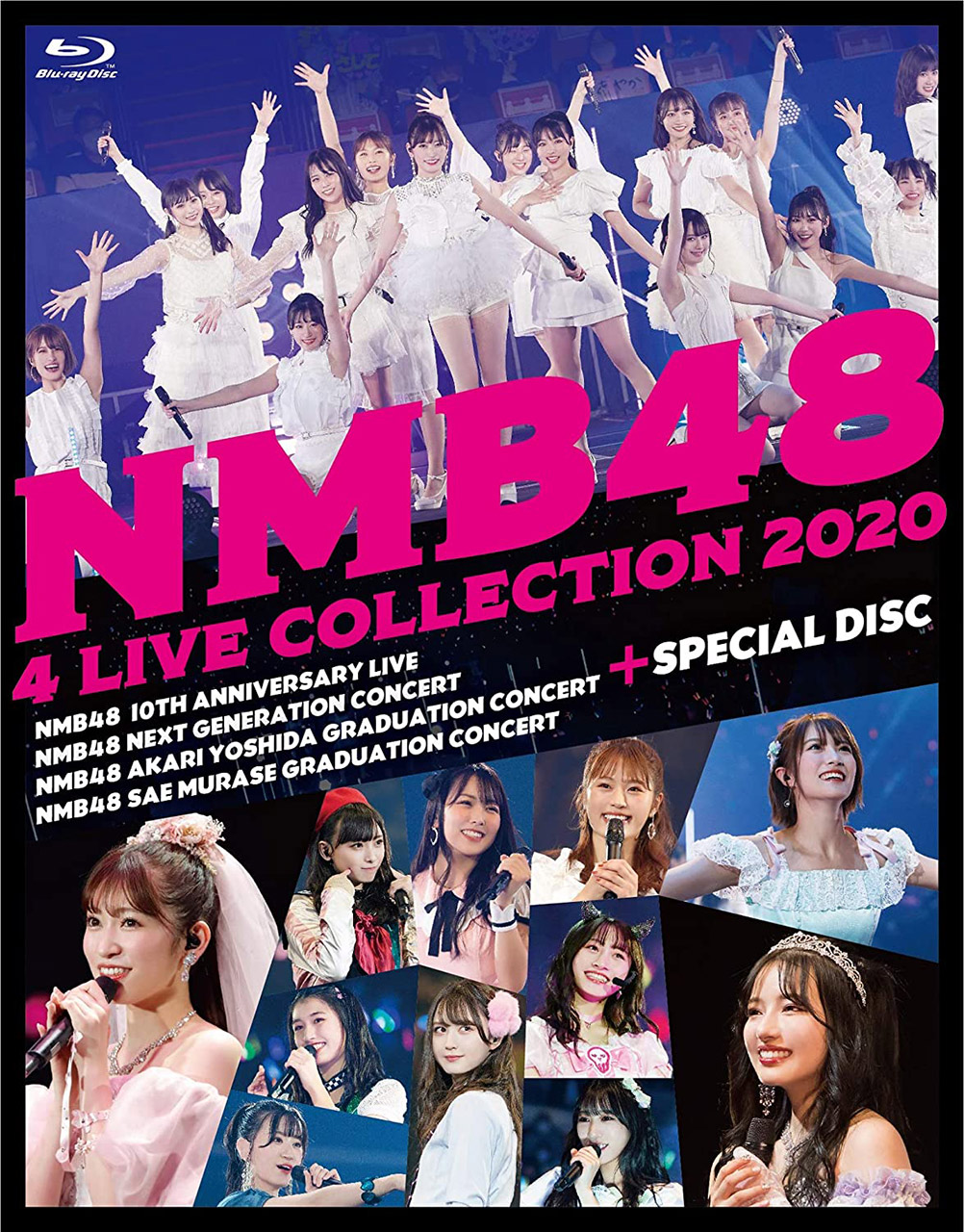 NMB48 4 LIVE COLLECTION 2020 [Blu-ray][DVD]
