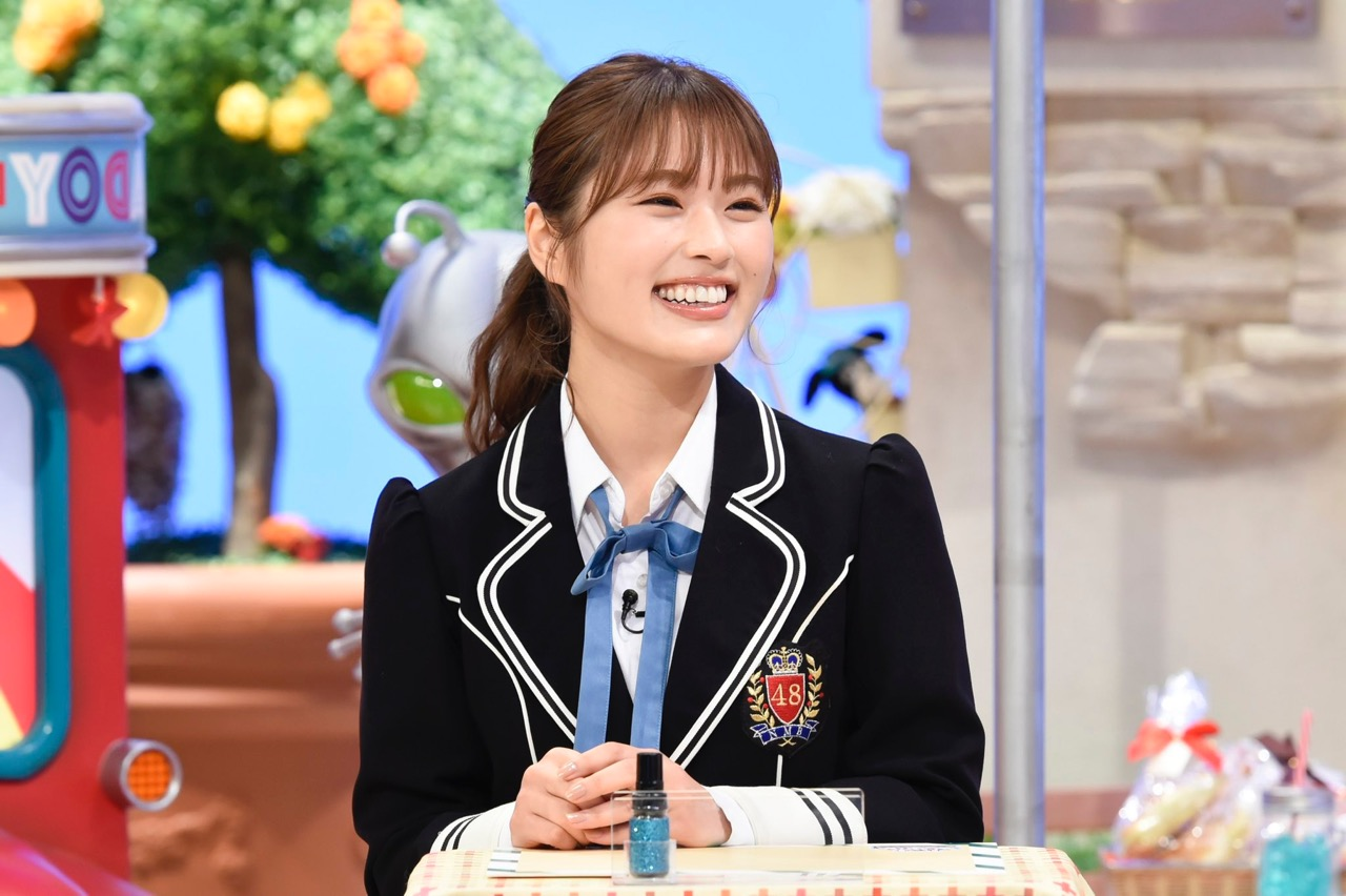 NMB48 渋谷凪咲&安田桃寧が「土曜はダメよ!」に出演!【読売テレビ】