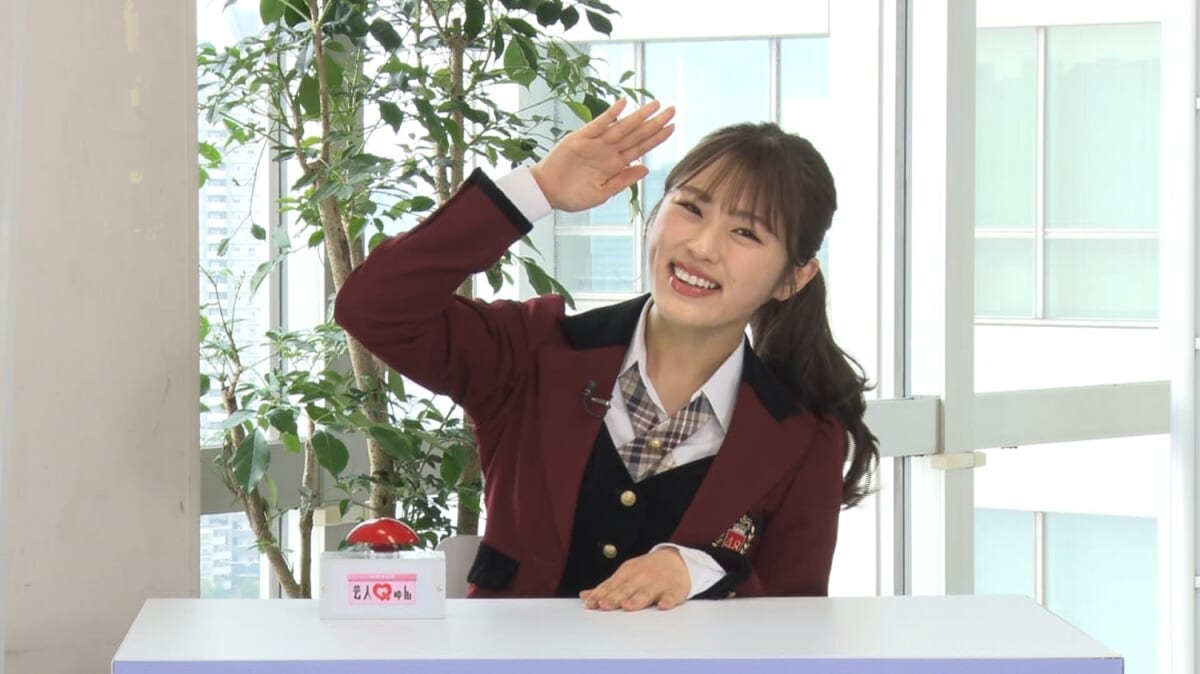 NMB48 渋谷凪咲が「水曜NEXT! 芸人Qゅん」にゲスト出演!芸人の意外な姿にきゅん!感動のラストとは?