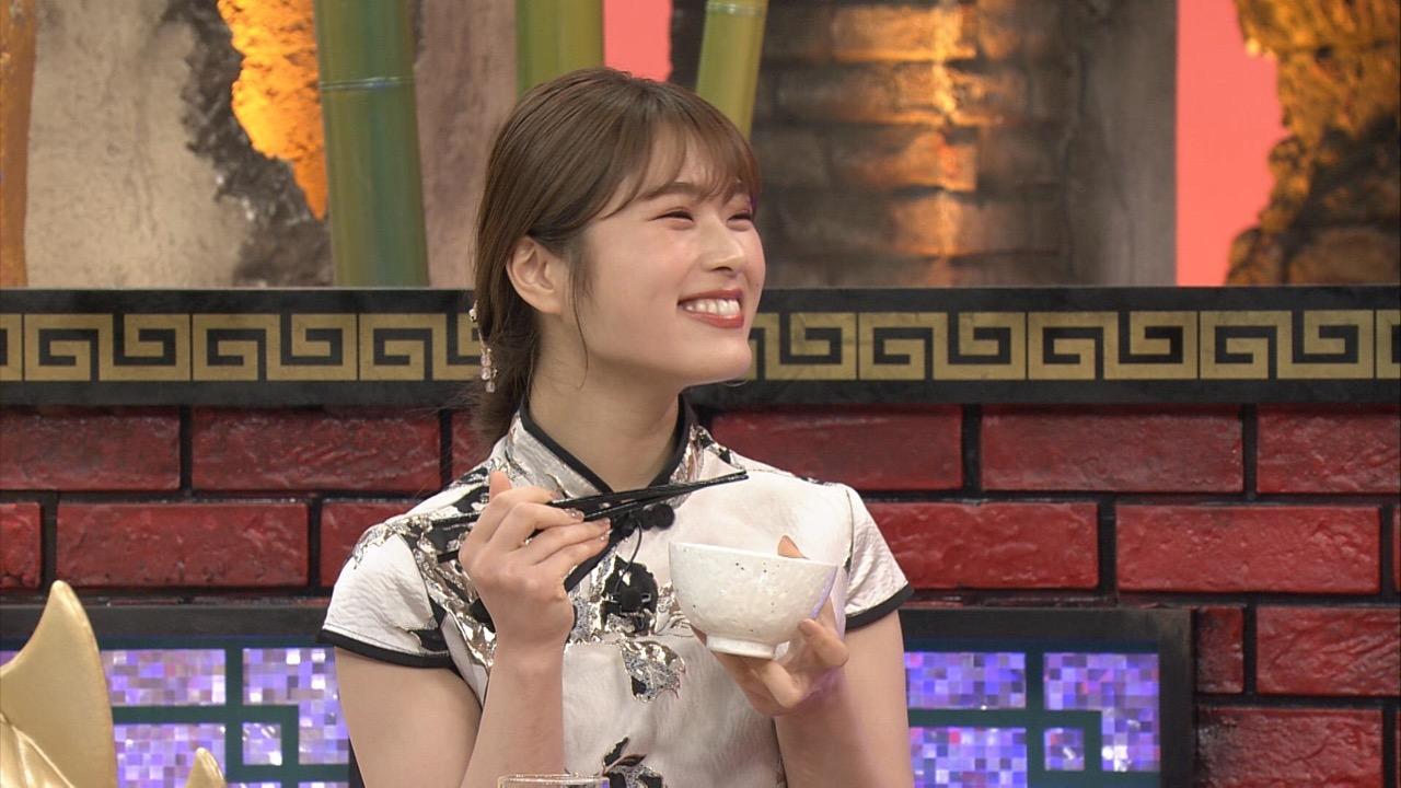 NMB48 渋谷凪咲出演「かまいたちの机上の空論城」未知のグルメ食材発見シリーズ!テーマは餃子!【関西テレビ】