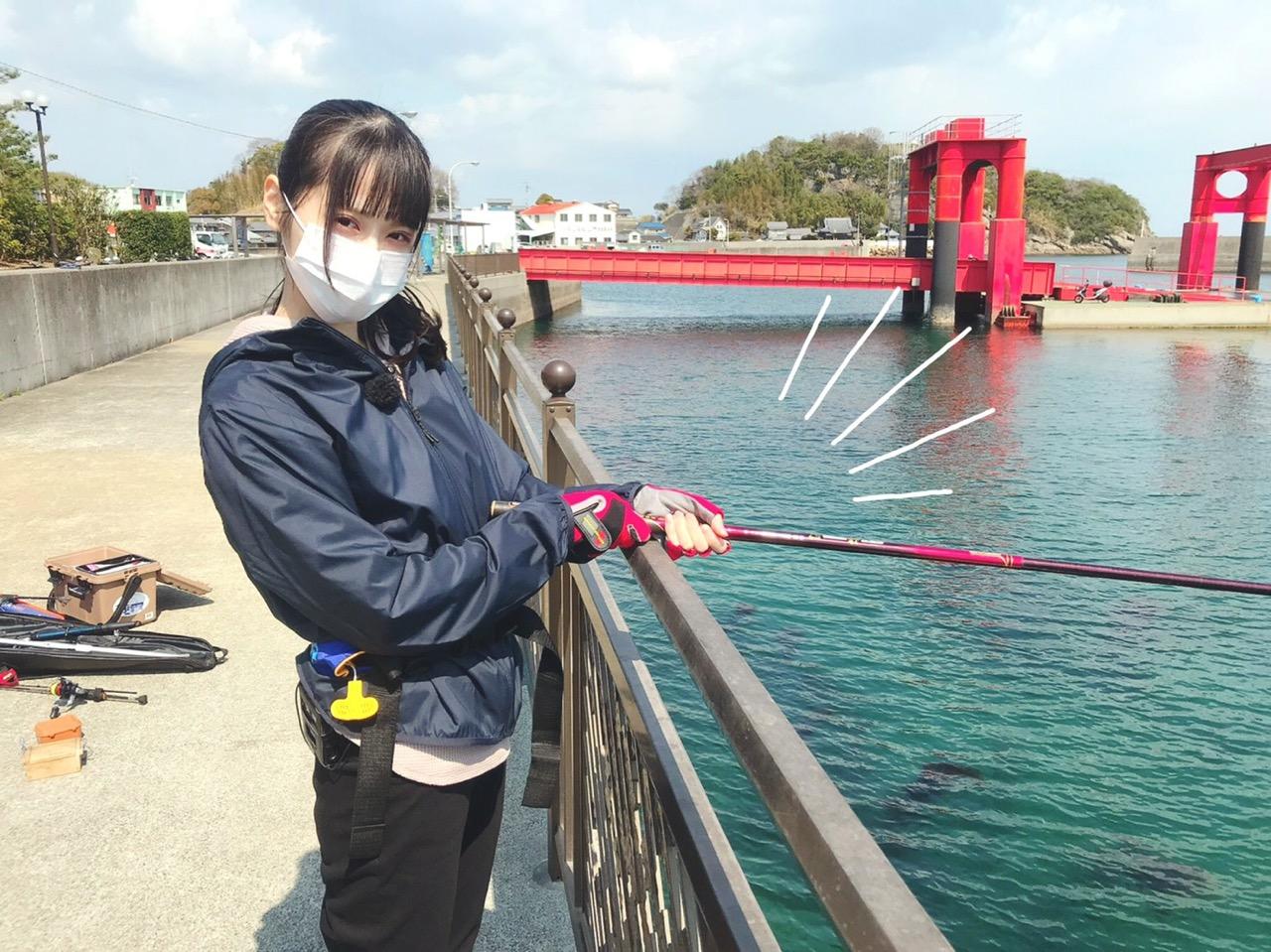 STU48 中村舞が「ビビサタ」に出演!釣り女子目指して奮闘!【テレビ愛媛】