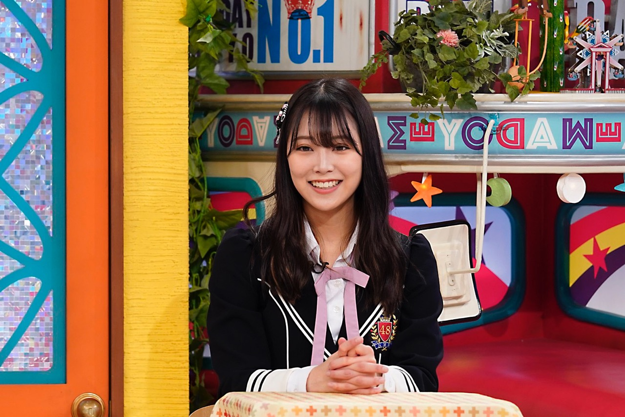 NMB48 白間美瑠&安田桃寧が「土曜はダメよ!」に出演!【読売テレビ】