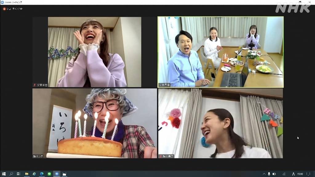 AKB48 向井地美音出演「趣味どきっ! 梨本家の快適!リモート生活術」#7:レッツ!リモートパーティー
