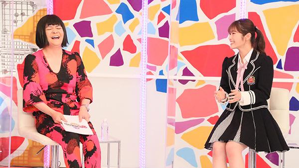 NMB48 渋谷凪咲が「千鳥のクセがスゴいネタGP」にゲスト出演!