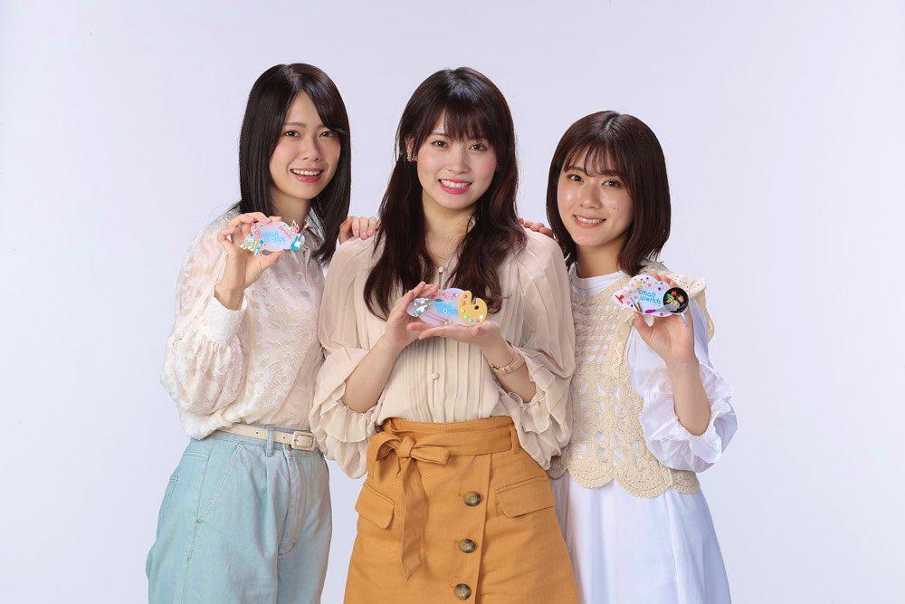 AKB48 チーム8 岡部麟・小田えりな・清水麻璃亜が「小さな国ちゃんねる」に出演!【2021.7.7 19:00〜 ミクチャ】