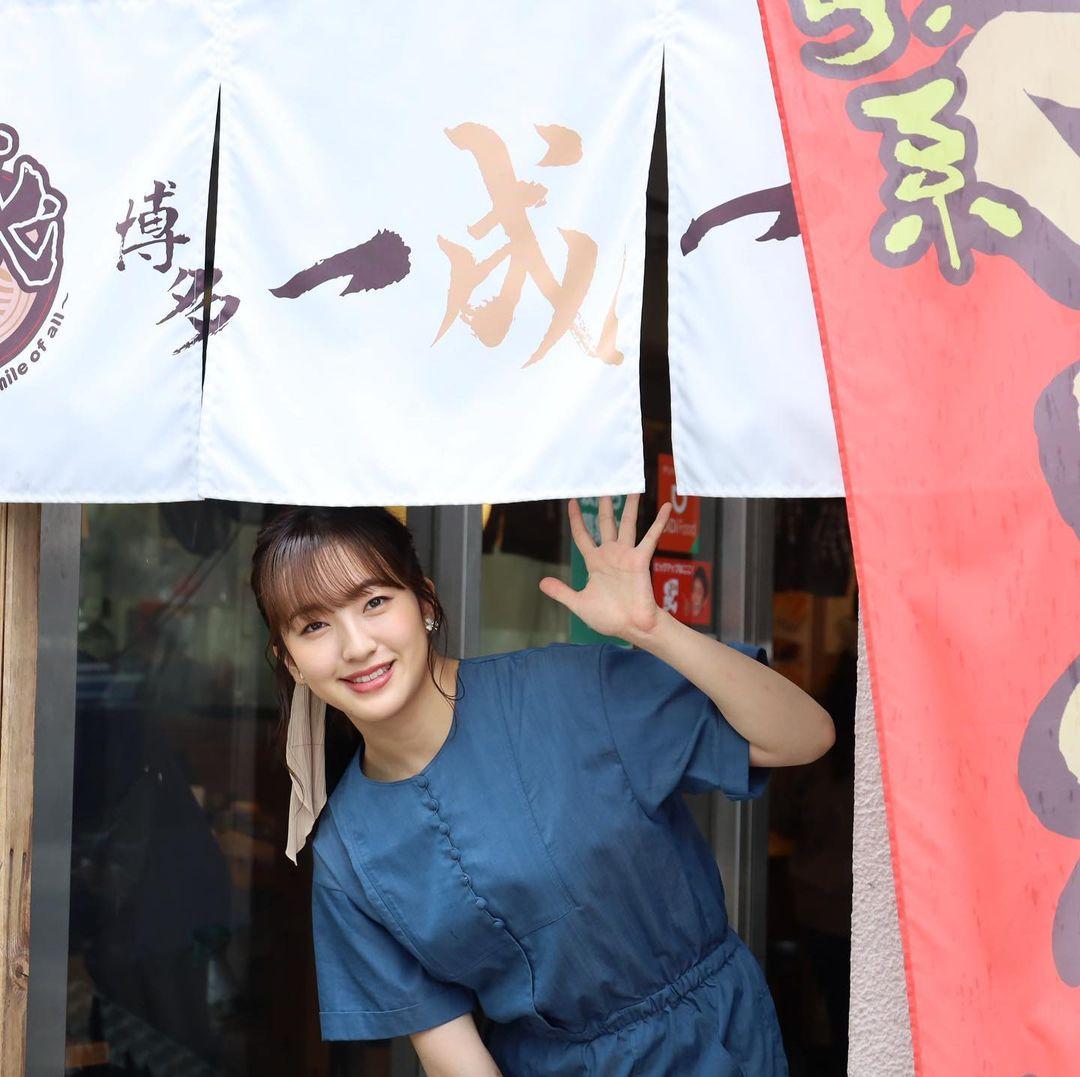 HKT48 田島芽瑠が「福岡 Ramen with me」に出演!【2021.7.8 24:55〜 KBC】