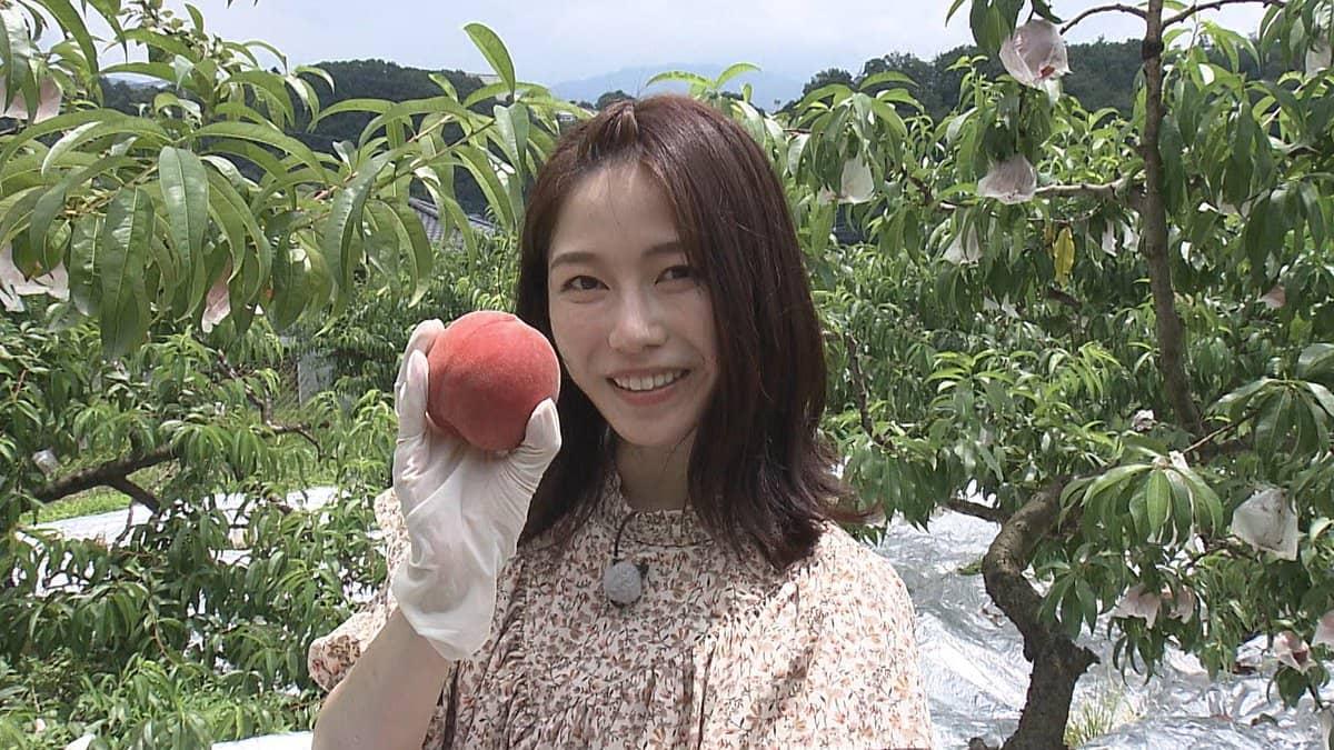 AKB48 横山由依が「ごはんジャパン」にゲスト出演!本物を探す旅へ~埼玉県秩父 桃と天然氷を使った極上パフェ【2021.9.4 18:30〜 テレビ朝日】