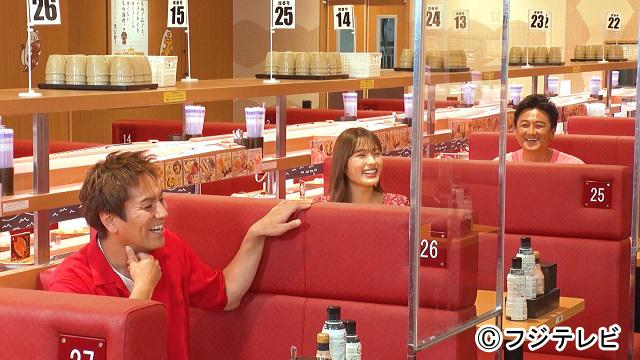 NMB48 渋谷凪咲が「VS魂」にゲスト出演!人気の回転ずし店で英語クイズバトル!【2021.9.30 19:00〜 フジテレビ】