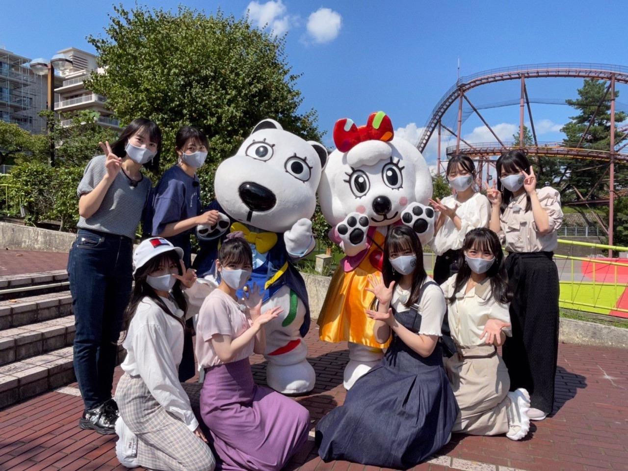 「STU48のガチンコバトル!」メンバー8名がよみうりランドで対決!【2021.9.30 25:05〜 TOKYO MX】